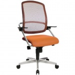 Bürodrehstuhl SMOVE 10 Stoffbezug: orange