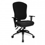 Bürodrehstuhl Wellpoint 30 SY inkl.Armlehnen höhenverstellbar mit Softpadauflagen