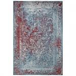 Teppich Wohnteppich My Mersey 1153, Vintage-Look, türkis