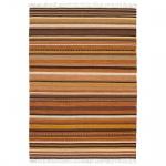 Teppich Wohnteppich Wollteppich My Kilauea 3080, 100% Wolle, handgefertigt, brauntöne