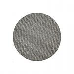 Teppich Wohnteppich Wollteppich My Logan, rund, 100% Wolle, handgefertigt, taupe