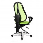 Topstar Bürodrehstuhl Sitness 15, apfelgrün inkl. Armlehnen