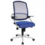 Bürodrehstuhl SMOVE 10 Stoffbezug: blau
