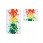 Badteppich Teppich My Fidler 4031, Thermoprint, waschbar, trocknergeeignet, multicolor