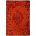 Teppich Wohnteppich My Mersey 1151, Vintage-Look, rot