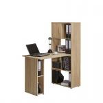 Minioffice Schreibtisch Computertisch 4012, mit PC Arbeitsplatz 60 x 143, 6 x 114 cm