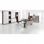 Schreibtisch Bürotisch C Fuß Pro 100 x 80 cm, Gera