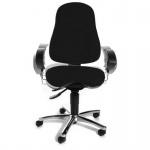 Bürodrehstuhl Drehstuhl Sitness 10 blau inkl.Armlehnen