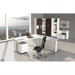 Büro Schreibtisch AVETO 160 x 80 x 75 cm C-Gestell