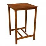 Bartisch Holztisch quadratisch 70 x70 cm Akazienholz