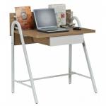 Schreibtisch Computertisch Easy Walnuss 93 x 84 x 56 cm