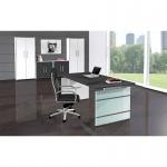 Kerkmann Büro Schreibtisch AVETO 4320 180 x 80 x 68 - 76 cm Wangen-Gestell Fb. weiß