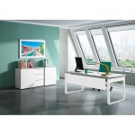 Kerkmann Schreibtisch FRESH 200 x 100 x 68 - 82 cm