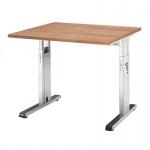 Büro Schreibtisch 80x80 cm Modell OS08 höheneinstellbar