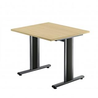 Büro Schreibtisch 80x80 cm Modell TS08