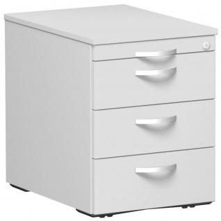 Gera Büro Rollcontainer Venedig T:600xH:565xB:438mm ahorn, buche, lichtgrau, weiß