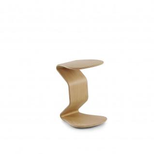 Ercolino - medium ohne Sitzpolster Oberfläche Eiche oder Buchefurniert geölt