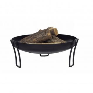 Outdoor Grill Feuerschale Pan 39 schwarz lackiert verschiedene Größen
