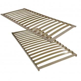 Lattenrost 80128-Flex 16 Federholzleisten 3 Härtezonen Birke-Schichtholz Rahmen hochkant