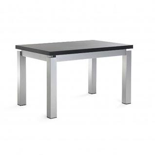 Mayer Tisch Esstisch XCite Dining 3057, 120 x 80 cm, Gestell perlsilber, MDF-Tischplatte