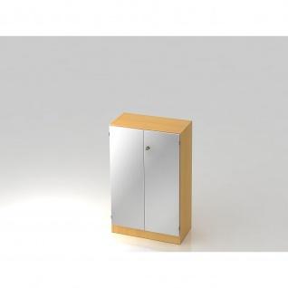 Hammerbacher Büroregal Aktenregal Modell 6550, 3OH (B) 80 x (T) 42 x (H) 127 cm abschließbar