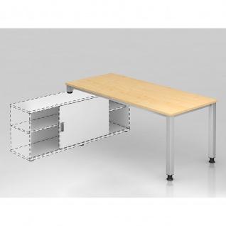 Büro Schreibtisch zur Auflage auf Sideboard 180x80 cm Modell QSE19