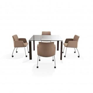 Kastel Design Lounge Sessel KRIBIO 4 Fußgestell Stoffausführung