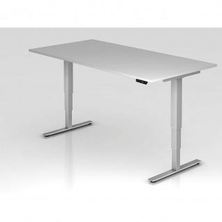 Büro Schreibtisch Stehtisch höhenverstellbar 200x100 cm Modell XDSM2E mit Memory-Schalter