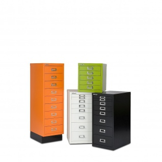 Bisley Container Standcontainer MultiDrawer 29er Serie DIN A4 8 Schubladen