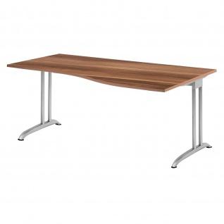 Büro Schreibtisch 180x80/100 cm Freiform Modell BS18