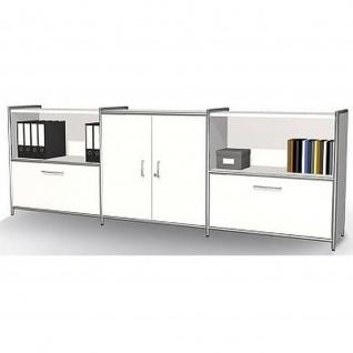 Kerkmann Sideboard 7914 ARTLINE 2 OH 236x38x78 cm mit Vorbautüren
