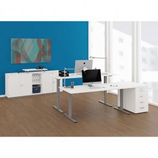 Elektro Smart Schreibtisch elektrisch höhenverstellbar 1200x800x700-1200 cm diverse Dekore - Vorschau 1