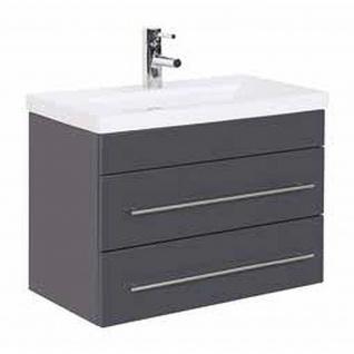 Badmöbel Badezimmer Waschbecken Waschplatz Portus 800