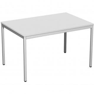 Gera Schreibtisch Bürotisch 4 Fuß Eco 1200x800x720mm versch. Dekore