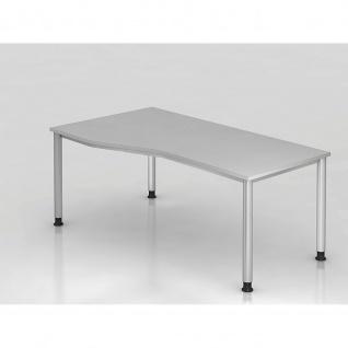 Büro Schreibtisch 180 x100 cm Freiform Modell HS18