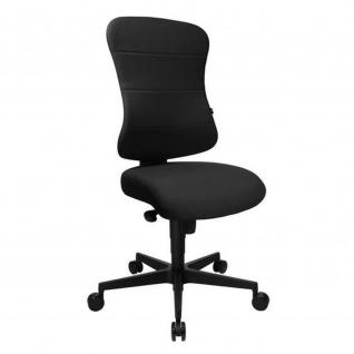 Bürodrehstuhl Drehstuhl Art Comfort mit Federkernkissen schwarz - Express 17 11-