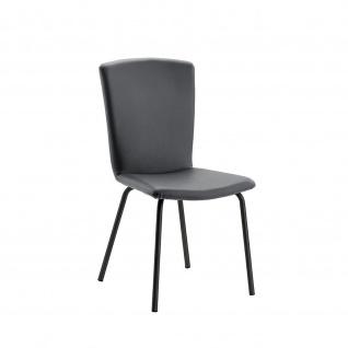 Design Stuhl Esszimmerstuhl Modello 1 Gestell schwarz