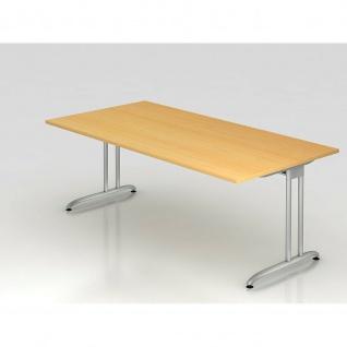 Büro Schreibtisch 200x100 cm Modell BS2E