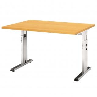 Büro Schreibtisch 120x80 cm Modell OS12 höheneinstellbar