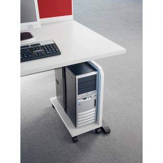Büro Rollwagen CPU Trolley inklusive Rollen verschiedene Dekore