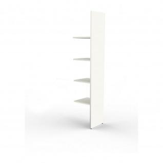 Offenes Anbauregal Büroregal Standregal, 4 Ordnerhöhen 78 x 38 x 183 cm