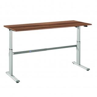 Büro Schreibtisch Stehtisch höhenverstellbar 180x80 cm Modell Xanda I