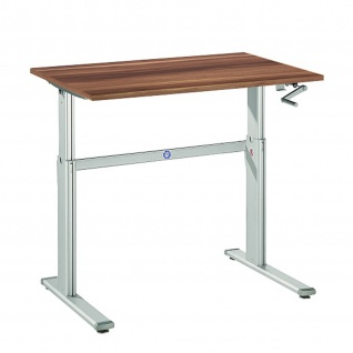 Büro Schreibtisch Stehtisch höhenverstellbar 120x80 cm Modell XK12
