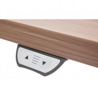 Büro Schreibtisch Stehtisch höhenverstellbar 180x80 cm Modell XMST16 mit Tast-Schalter