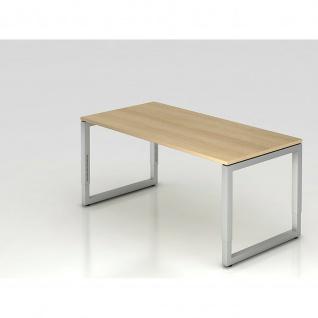 Büro Schreibtisch 160x80 cm Modell RS16 mechanische Höheneinstellung