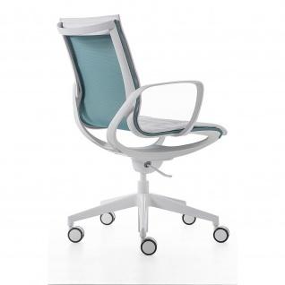 Kastel Drehstuhl Bürodrehstuhl Key Line Mesh drehbar Sitz und Rücken mit Netzbespannung