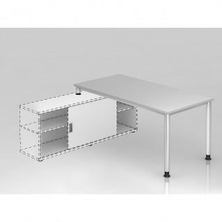 Büro Schreibtisch zur Auflage auf Sideboard 160x80 cm Modell HSE16