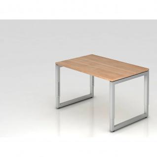 Büro Schreibtisch 120 x 80 cm Modell RS12 mechanische Höheneinstellung