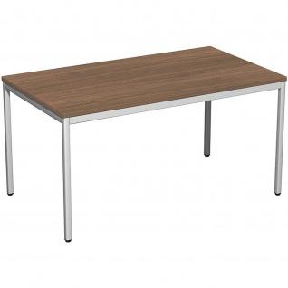 Gera Schreibtisch Bürotisch 4 Fuß Eco 1400x800x720mm verschied.Decore