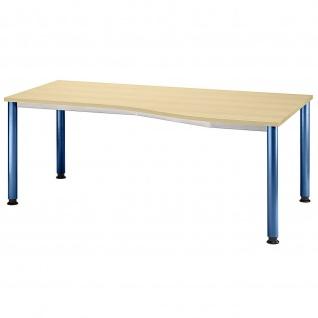 Büro Schreibtisch 180x80/100 cm Freiform Modell HS18